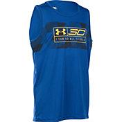 Under Armour Boys' SC30 Essentials Sleeveless Basketball Shirt