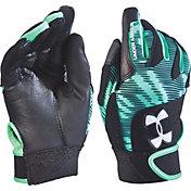 Under Armour Girls' Radar Fastpitch Batting Gloves