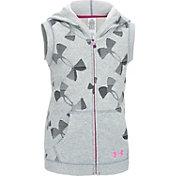 Under Armour Girls' Kaleidelogo Full Zip Vest