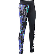 Under Armour Girls' Mix Master Tri Meta Leggings