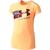 Under Armour Girls' Novelty Fast Lane Graphic T-Shirt