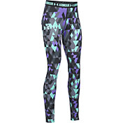 Under Armour Girls' HeatGear Armour Printed Leggings
