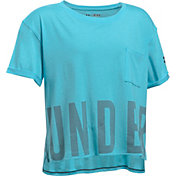 Under Armour Girls' Studio T-Shirt