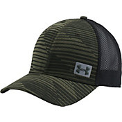 Under Armour Men's Blitzing Trucker Hat