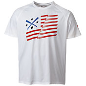 Under Armour Men's Baseball Flag Graphic  T-Shirt