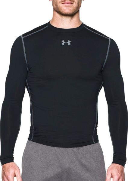 cf2a43151 Under Armour Men's ColdGear Armour Compression Crewneck Long Sleeve Shirt