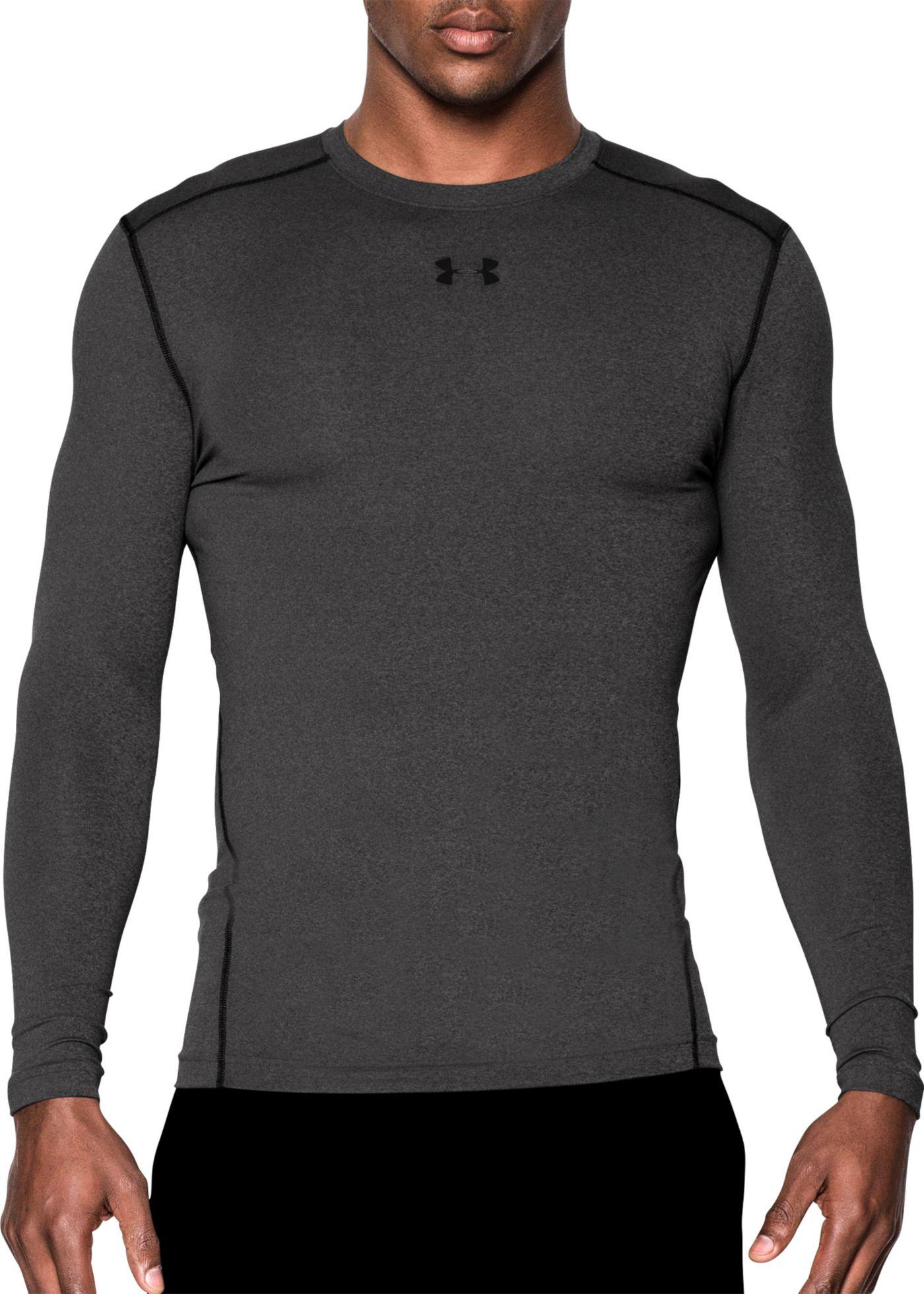 Under Armour Men's ColdGear Armour Compression Crewneck Long Sleeve Shirt