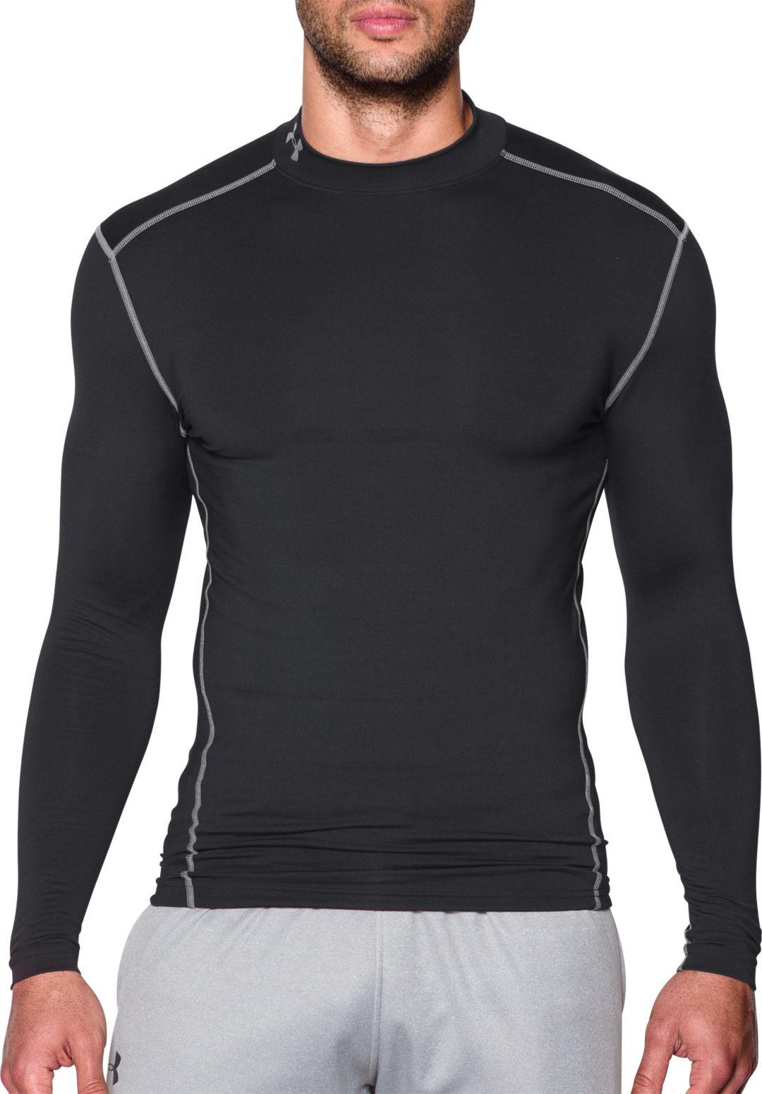 sprawdzić najlepszy dostawca 100% najwyższej jakości Under Armour Men's ColdGear Armour Compression Mock Neck Long Sleeve Shirt