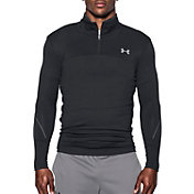 Under Armour Men's  ColdGear Armour Elements Quarter Zip Long Sleeve Shirt
