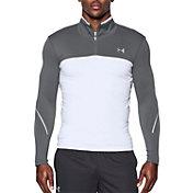 Under Armour Men's  ColdGear Armour Elements Quarter Zip Long Sleeve Shirt