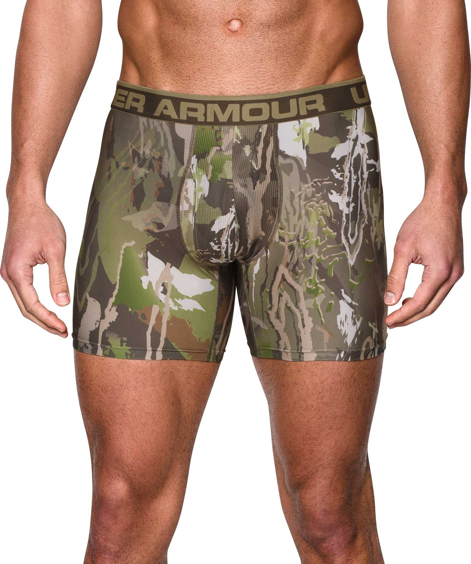 "Under Armour Men's Original Series Camo 6"" Boxerjock Boxer Briefs, Large, Multi thumbnail"