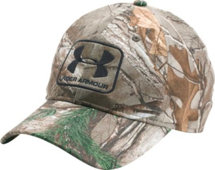 Under Armour Men s Camo Stretch Fit Hat. noImageFound 3c4b34fb520