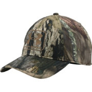 Under Armour Men s Camo Stretch Fit Hat  3917613582ae