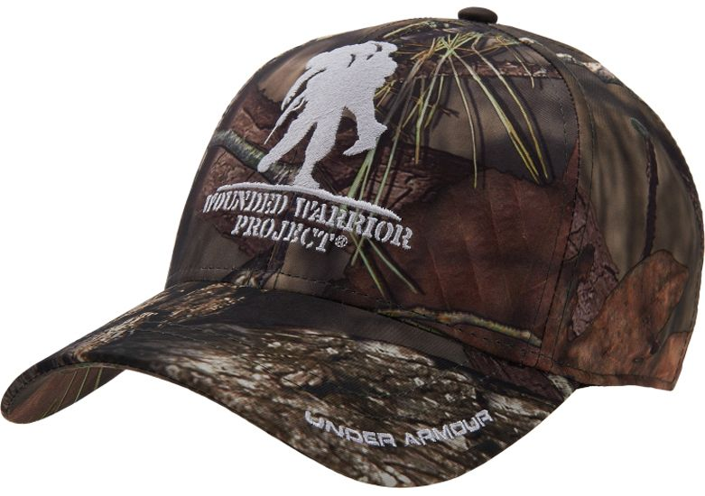 2d12cc85e17 ... coupon code for under armour mens wounded warrior project camo hat  abf43 378cd ...