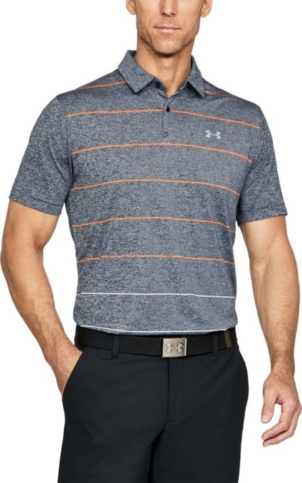 Under Armour CoolSwitch Pivot Stripe Polo