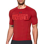 Under Armour Men's Football Printed Compression T-Shirt