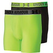 Under Armour Men's HeatGear Performance 6'' Boxerjock Boxer Briefs 2 Pack