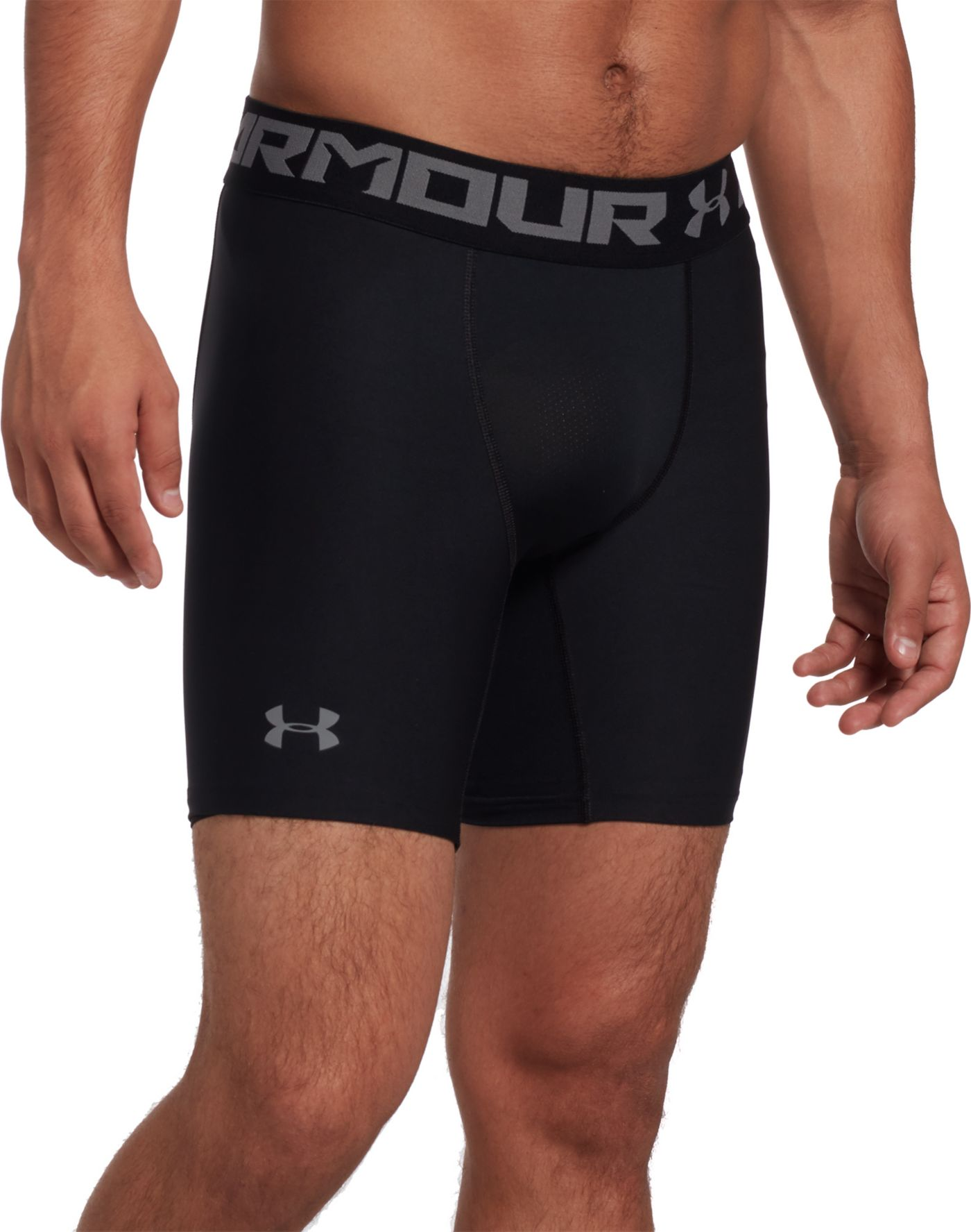Under Armour Men's 6'' HeatGear Armour 2.0 Compression Shorts (Regular and Big & Tall)