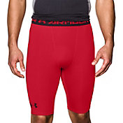 Under Armour Men's HeatGear Armour Compression Shorts – Long