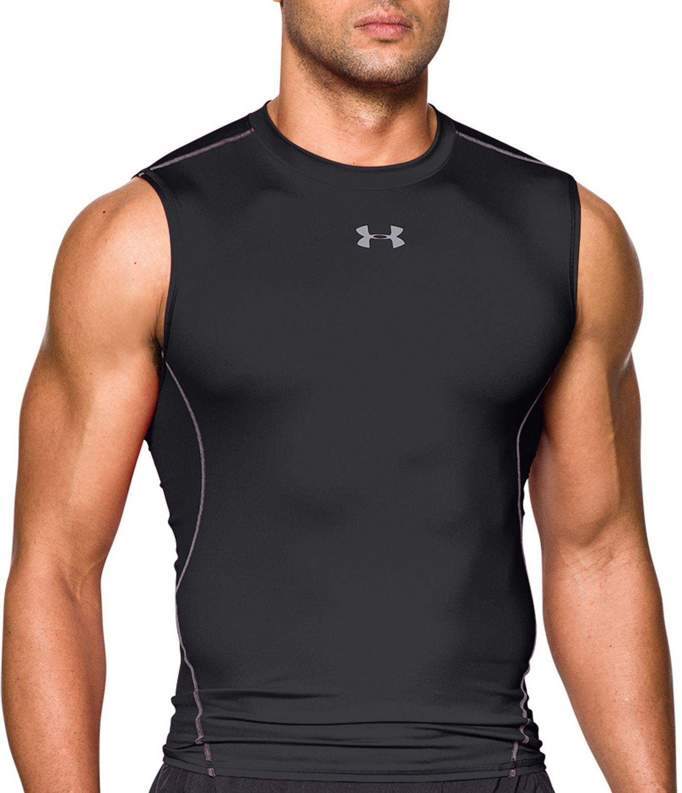 Under Armour Men's HeatGear Armour Sleeveless Shirt (Regular and Big & Tall)