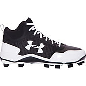 Under Armour Men's Heater Mid TPU Baseball Cleats