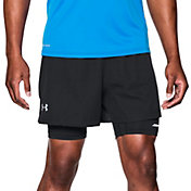 Under Armour Men's Launch Print Racer 2-in-1 Running Shorts
