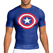 Under Armour Men's Alter Ego Captain America Compression T-Shirt