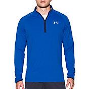 Under Armour Men's NoBreaks Quarter Zip Long Sleeve Running Shirt