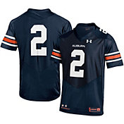 Under Armour Men's Auburn Tigers Navy #2 Replica Football Jersey