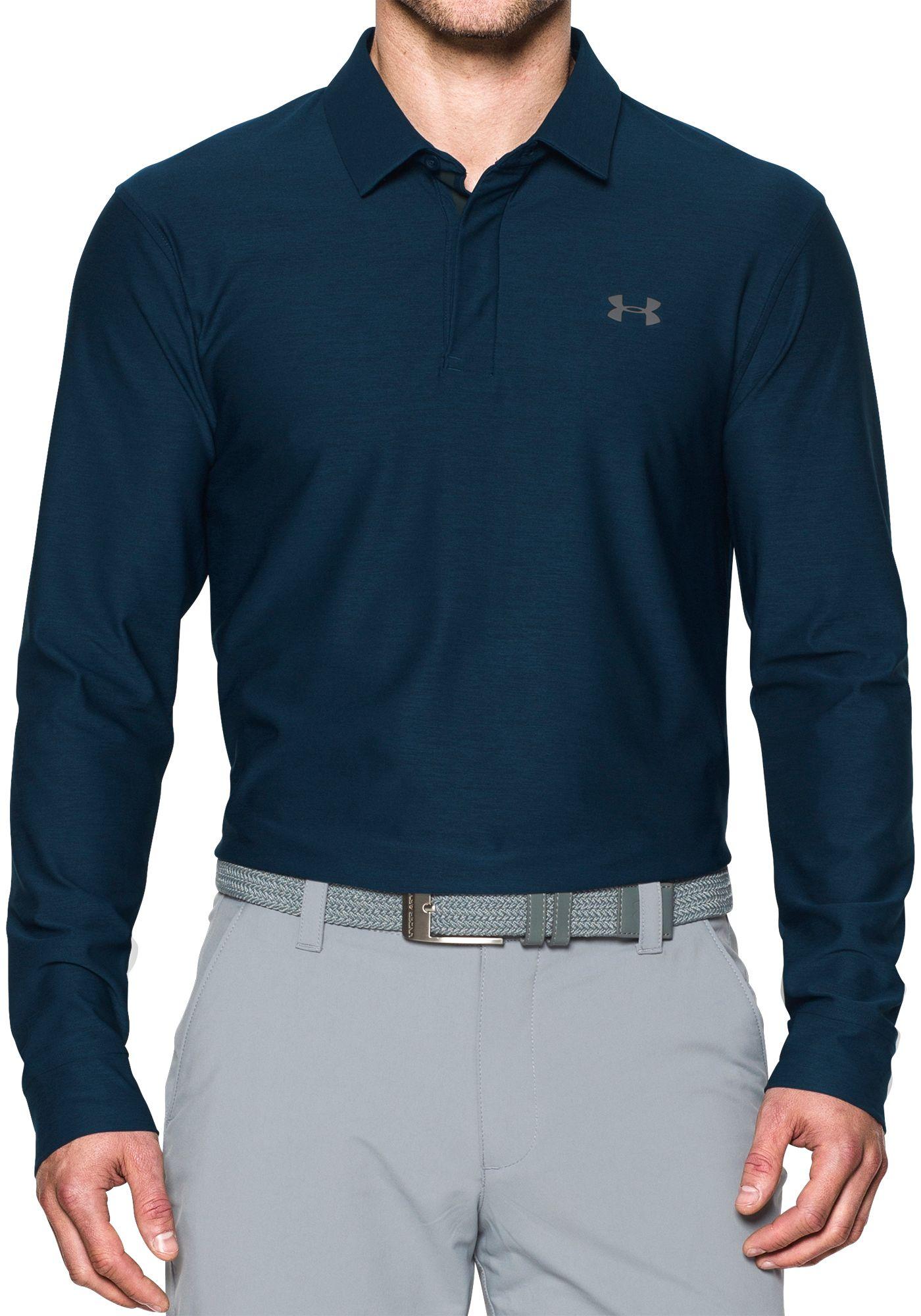 Under Armour Men's Long Sleeve Golf Polo