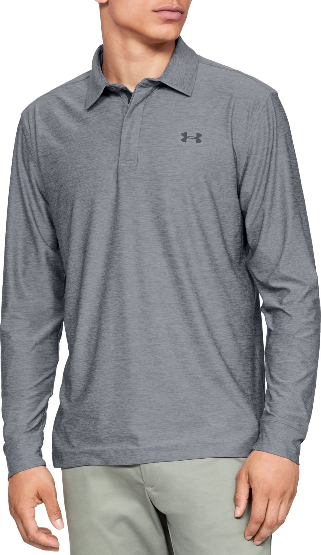 449c0947bb Under Armour Men's Long Sleeve Golf Polo | DICK'S Sporting Goods
