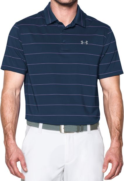 Under Armour Playoff Pinstripe Polo
