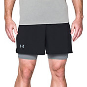 Under Armour Men's Two-In-One Qualifier Shorts