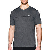Under Armour Men's Seamless V-Neck Running T-Shirt