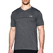 Under Armour Men's Seamless V-Neck Running T-Shirt