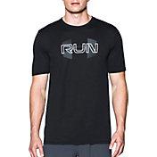 Under Armour Men's Run Overlap Logo T-Shirt
