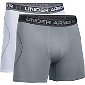 Under Armour Men's Iso-Chill Mesh 6'' Boxerjock Boxer Briefs 2 Pack