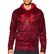 Under Armour Men's Storm Armour Fleece Big Logo Rover Print Hoodie