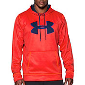 Under Armour Men's Storm Armour Fleece Big Logo Printed Hoodie