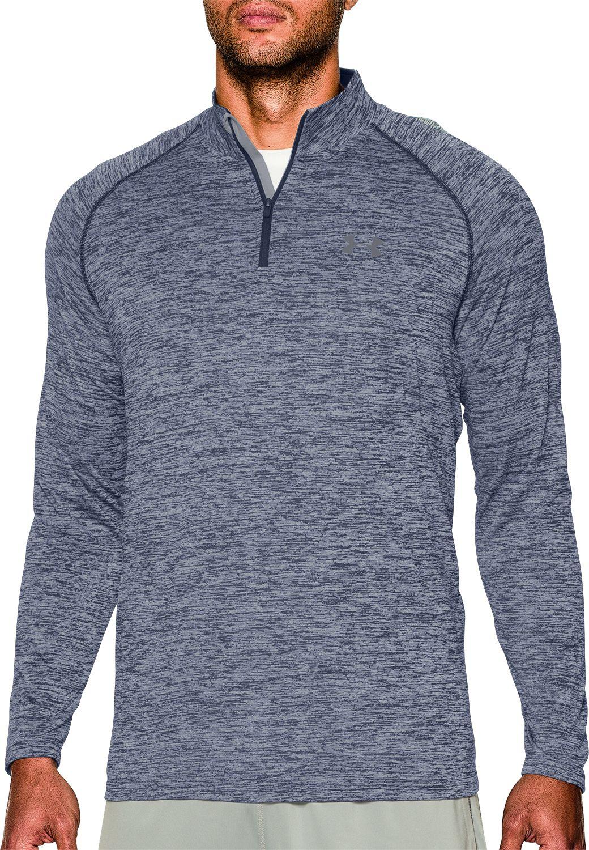 Under Armour Men s UA Tech Quarter Zip Long Sleeve Shirt  803feb05266
