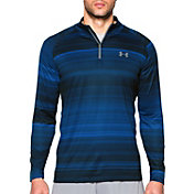 Under Armour Men's Tech Printed Quarter Zip Long Sleeve Shirt