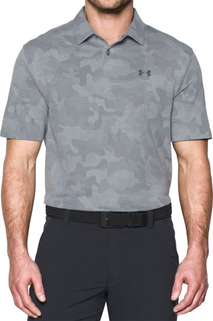 Under Armour Threadborne Camo Jacquard Polo
