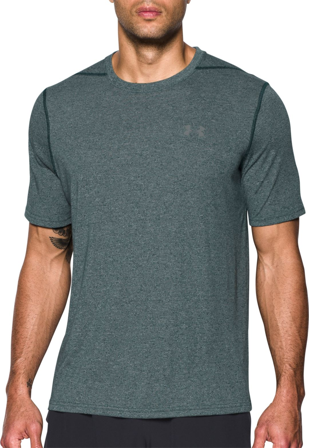 b1ef67e305 Under Armour Men's Threadborne Siro Heather Print T-Shirt