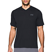 Under Armour Men's Threadborne Siro V-Neck Twist Print T-Shirt