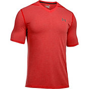 Under Armour Men's Threadborne Siro V-Neck Twist Print T-Shirt