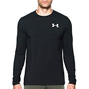 Under Armour Men's Vertical Wordmark Long Sleeve Shirt