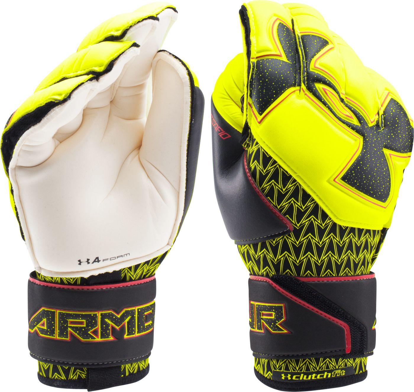Under Armour Adult Desafio Premier Soccer Goalie Gloves