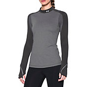 Under Armour Women's ColdGear Elements Mockneck Long Sleeve Shirt