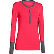 Under Armour Women's ColdGear Infrared Henley Long Sleeve Shirt