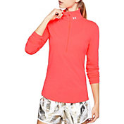 Under Armour Women's Threadborne Streaker Half-Zip Long Sleeve Running Shirt